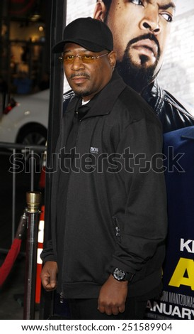 """Martin Lawrence at the Los Angeles Premiere of """"Ride Along"""" held at the TCL Chinese Theatre in Hollywood, California, United States on January 13, 2014.  - stock photo"""