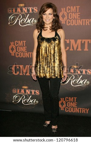 Martina McBride at the CMT Giants honoring Reba McEntire. Kodak Theatre, Hollywood, CA. 10-26-06