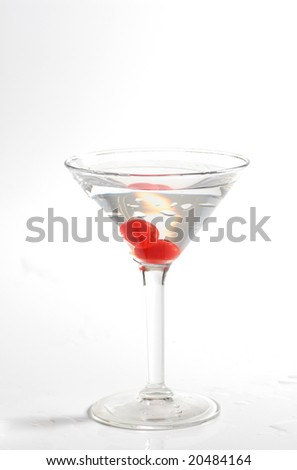 martini for new year eve or holidays