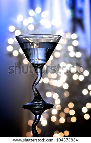 Martini Glass 2 - stock photo