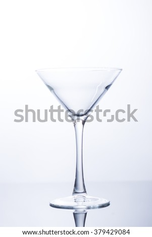 martini glass for drinking alcohol out of