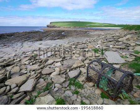 Marwick Bay, Orkney Mainland, Scotland, UK - stock photo