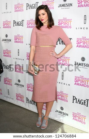 Mary Elizabeth Winstead at the 2013 Film Independent Filmmaker Grant And Spirit Award Nominees Brunch, BOA, West Hollywod, CA 01-12-13