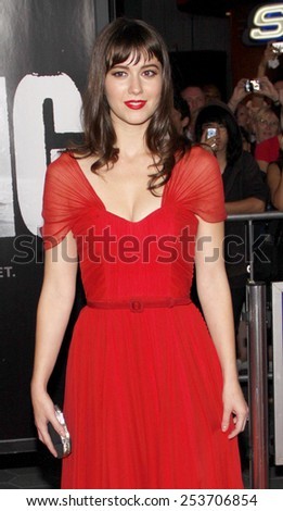 "Mary Elizabeth Winstead at the Los Angeles Premiere of ""The Thing"" held at the Universal Studios in Westwood, California, United States on October 10, 2011."