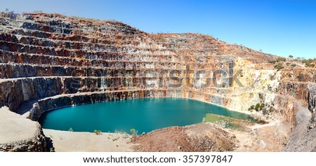 Mary Kathleen mine near Mount Isa now closed Mary Kathleen's uranium deposits originated from contact metasomatic processes