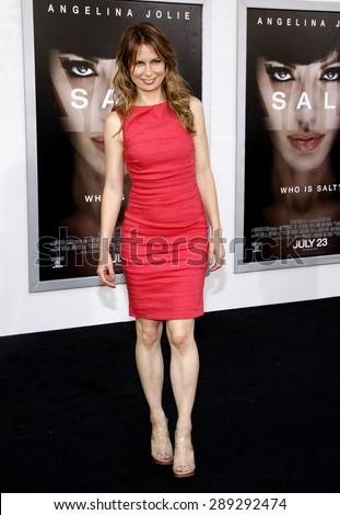 """Mary Lynn Rajskub at the Los Angeles premiere of 'Salt"""" held at the Grauman's Chinese Theatre in Hollywood on July 19, 2010.  - stock photo"""