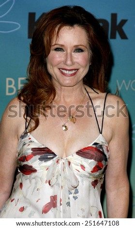 Mary McDonnell attends Women In Film Presents The 2007 Crystal and Lucy Awards held at the Beverly Hilton Hotel in Beverly Hills, California, California, on June 14, 2006.  - stock photo