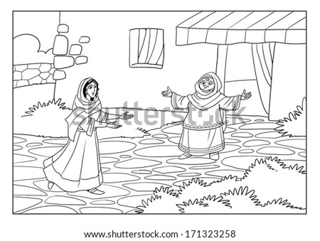 elizabeth and zechariah coloring pages - zechariah stock photos images pictures shutterstock