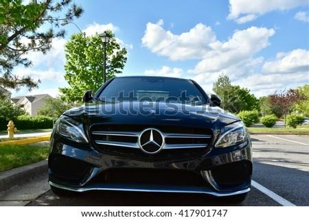 Mercedes stock photos royalty free images vectors for Mercedes benz dealer md