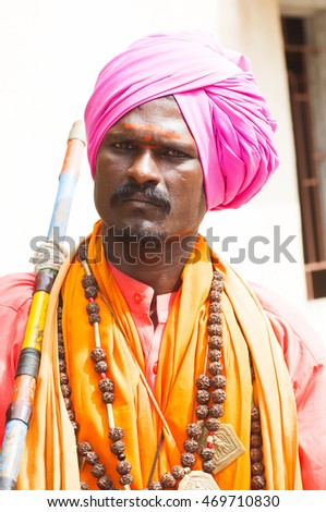 Masan Jogi sadhu or Aghori Sadhu, they are Nomadic Tribes of maharashtra, they lived at the cremation place.