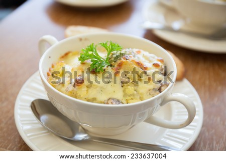 mashed potato - stock photo