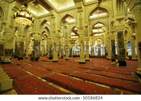 Masjidil haram at Mecca - stock photo