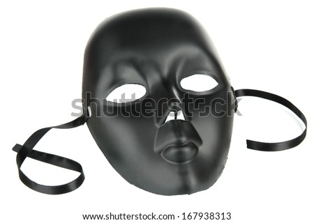 Mask isolated on white