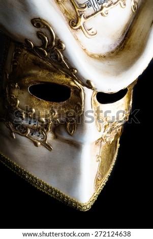 Mask, Masquerade Mask, Costume. - stock photo