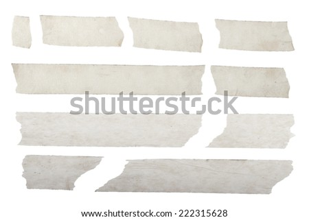 Masking duct tape - stock photo