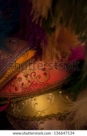 Masks - Venice - stock photo