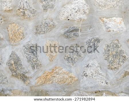 Masonry Stone Wall Background Texture - stock photo
