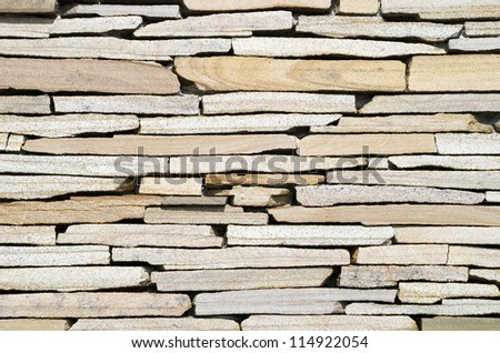 Masonry wall closeup background. - stock photo