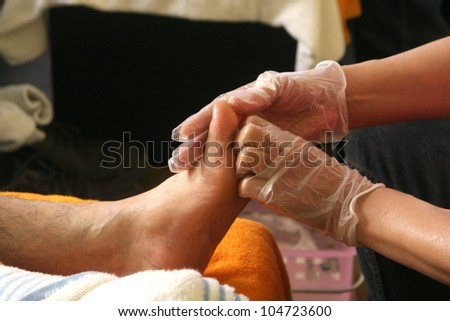 Massage / A foot Massage.