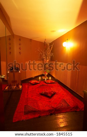 massage center interior