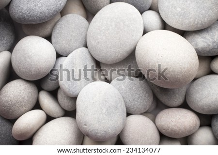 Massage stones. Massage pebbles. Various sizes.