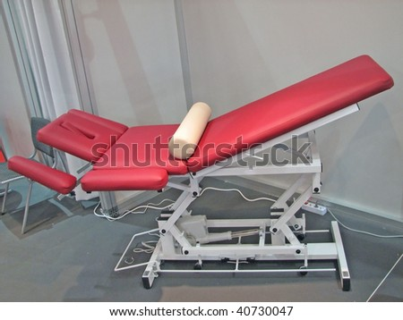 massage table. massage set.