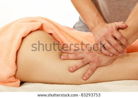 Массаж для женщины антицеллюлитный