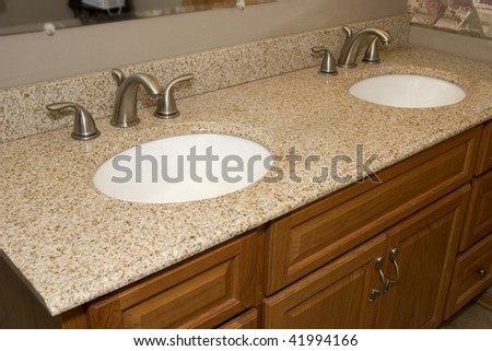 Master Bath - stock photo