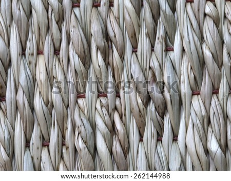 mat from papyrus - stock photo