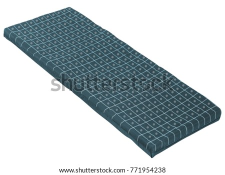 Mat isolated on white