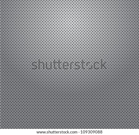 matalic grill background - stock photo