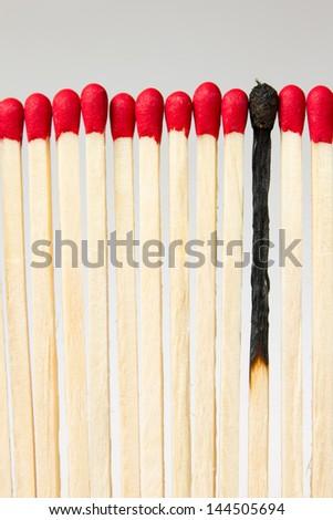Match concept ideas - stock photo