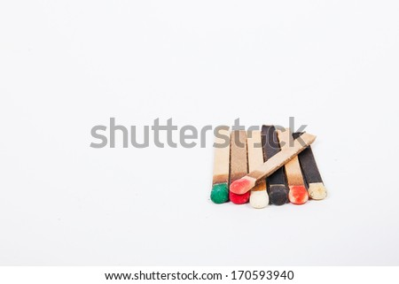 Match stalk - stock photo