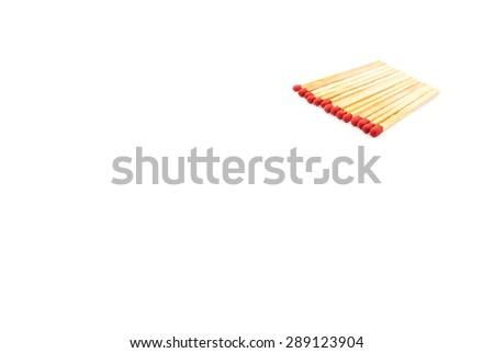 match stick - stock photo