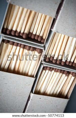 Matches - stock photo