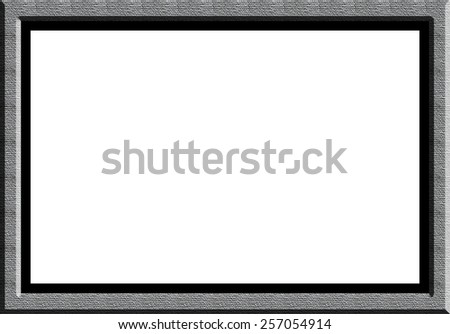 Material Photograph Frame White material textured photograph frame with white for words and images