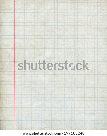 Math paper background - Closeup. - stock photo