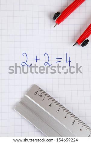 mathematics - stock photo