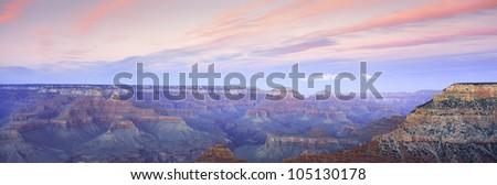 Mather Point, Grand Canyon, Arizona - stock photo