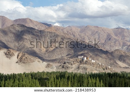 Matho Monastery is a Buddhist monastery in Ladakh, India ,