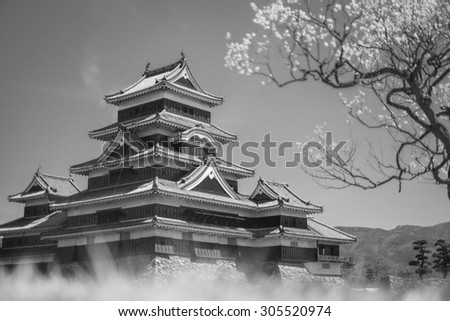 Matsumoto Castle is one of the most complete and beautiful among Japan's original castles