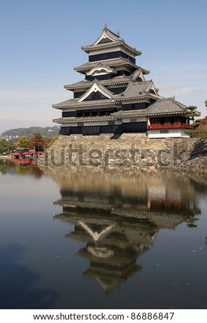 Matsumoto Castle, Matsumoto, Japan - stock photo