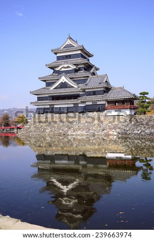 Matsumoto, castle  with Blue Sky