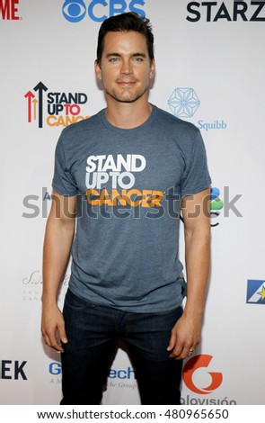 Matt Bomer at the 5th Biennial Stand Up To Cancer held at the Walt Disney Concert Hall in Los Angeles, USA on September 9, 2016.