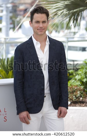 Matt Bomer attends 'The Nice Guys' photocall during the 69th annual Cannes Film Festival at the Palais des Festivals on May 15, 2016 in Cannes,