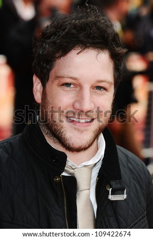 "Matt Cardle arriving for the ""Fast Girls"" premiere at the Odeon West End, Leicester Square, London. 07/06/2012 Picture by: Steve Vas / Featureflash"