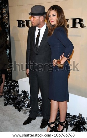 Matt Goss and Daisy Fuentes  at the Burberry Beverly Hills Store Re-Opening. Burberry Beverly Hills Store, Beverly Hills, CA. 10-20-08