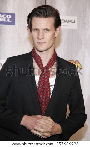 Matt Smith at the Spike TV's 'SCREAM 2011' awards held at Universal Studios in Universal City, California on October 15, 2011. - stock photo
