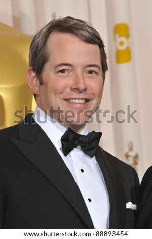 Matthew Broderick at the 82nd Academy Awards at the Kodak Theatre, Hollywood. March 7, 2010  Los Angeles, CA Picture: Paul Smith / Featureflash - stock photo