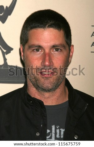 "Matthew Fox at An Evening with ""Lost"" presented by ATAS. Leonard H. Goldenson Theatre, North Hollywood, CA. 01-13-07"